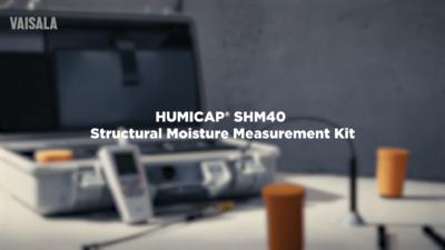 Vaisala SHM40 – Structural Moisture Measurement
